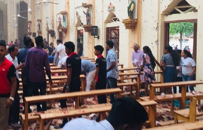 Sri Lanka explosions: 160 killed as churches and hotels targeted