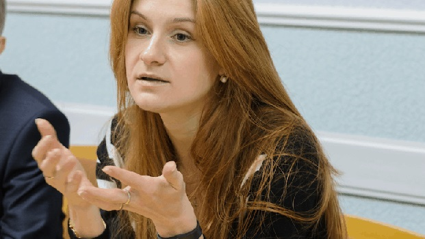 Maria Butina  returns to Moscow